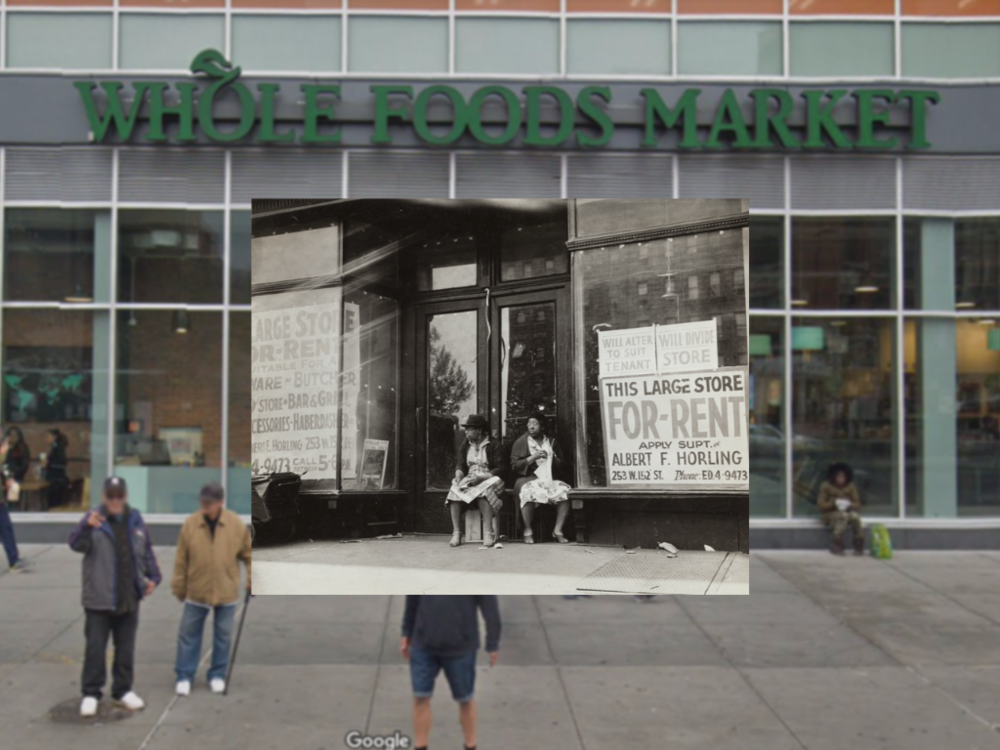 Credit:  The New York Public Library Digital Collections, Schomburg Center for Research in Black Culture, Photographs and Prints Division and Google Maps/Street View.   Photographer:  Unknown   Photograph Sponsored by the United States Works Progress Administration