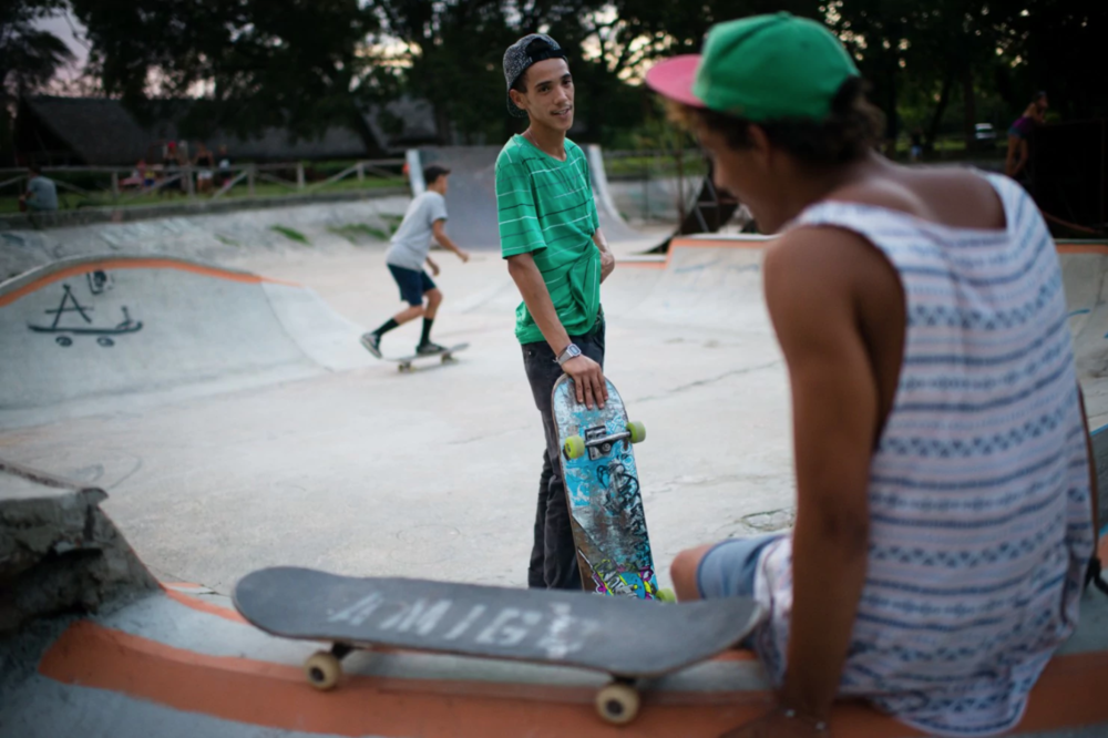 Skateboard diplomacy: A D.C. group's plan to help thaw relations with Cuba ( The Washington Post )