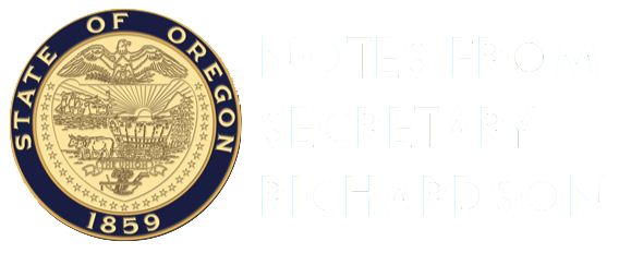 Notes from Secretary Richardson
