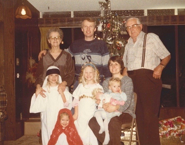 A fun Christmas memory from 1980.