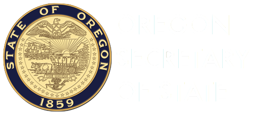 Notes from the Oregon Secretary of State
