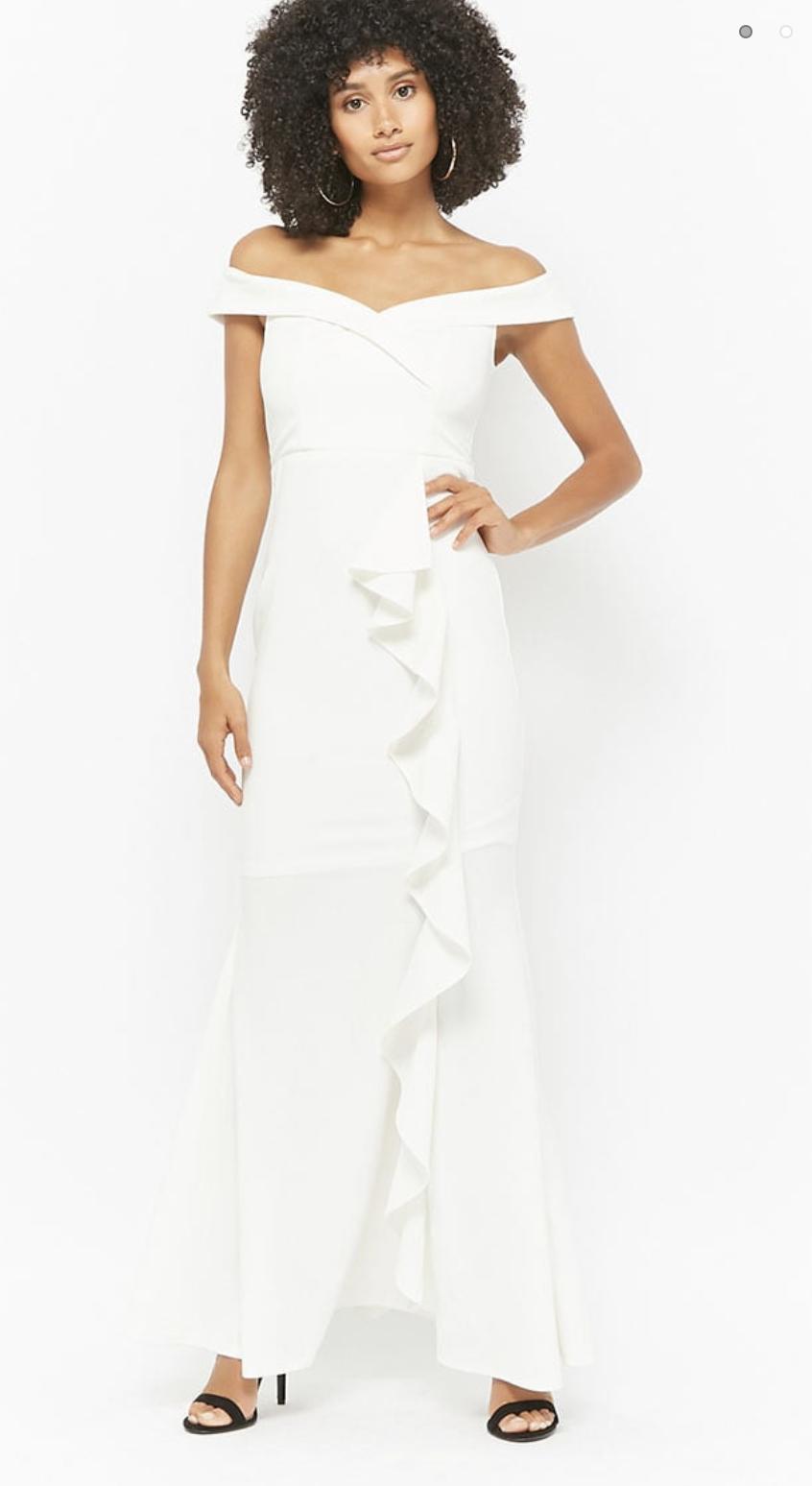 Forever 21 Affordable Wedding Dress