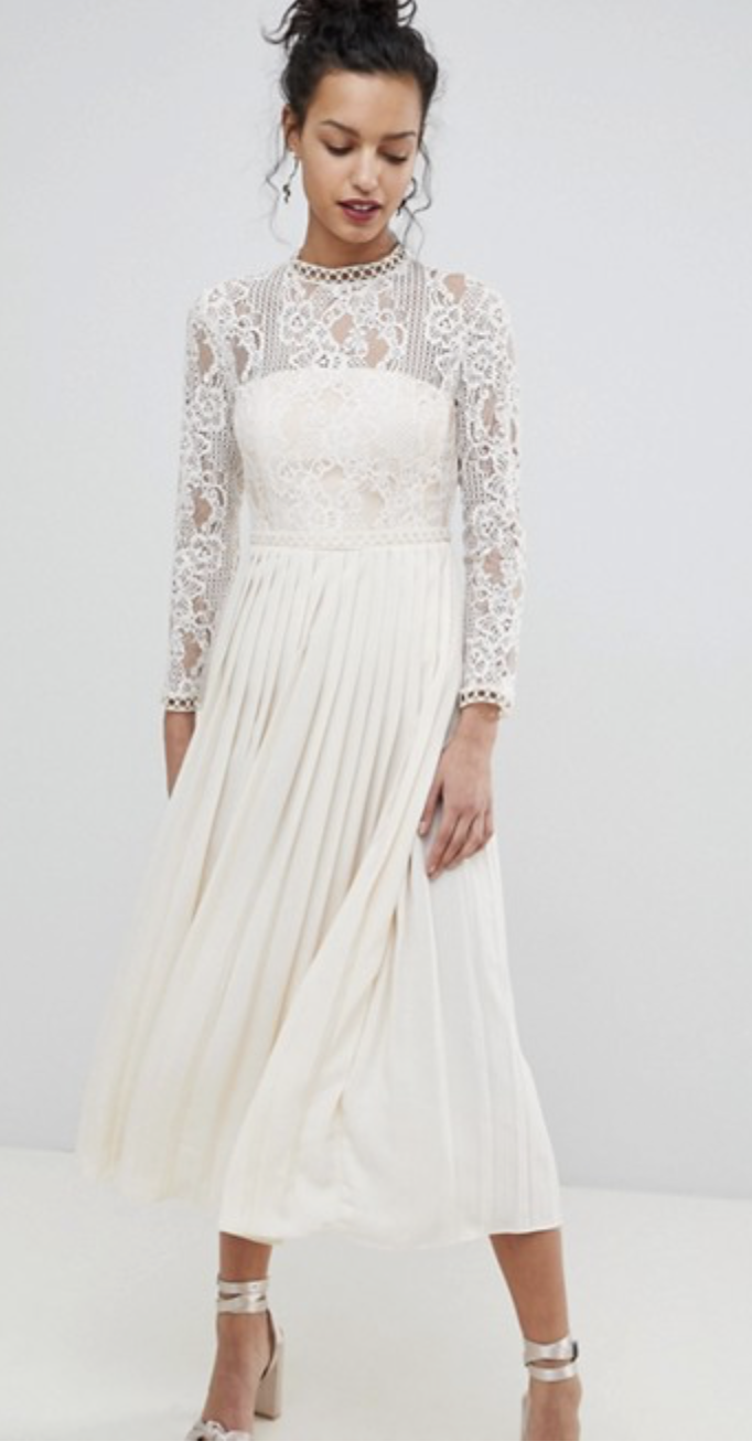 asks wedding dress