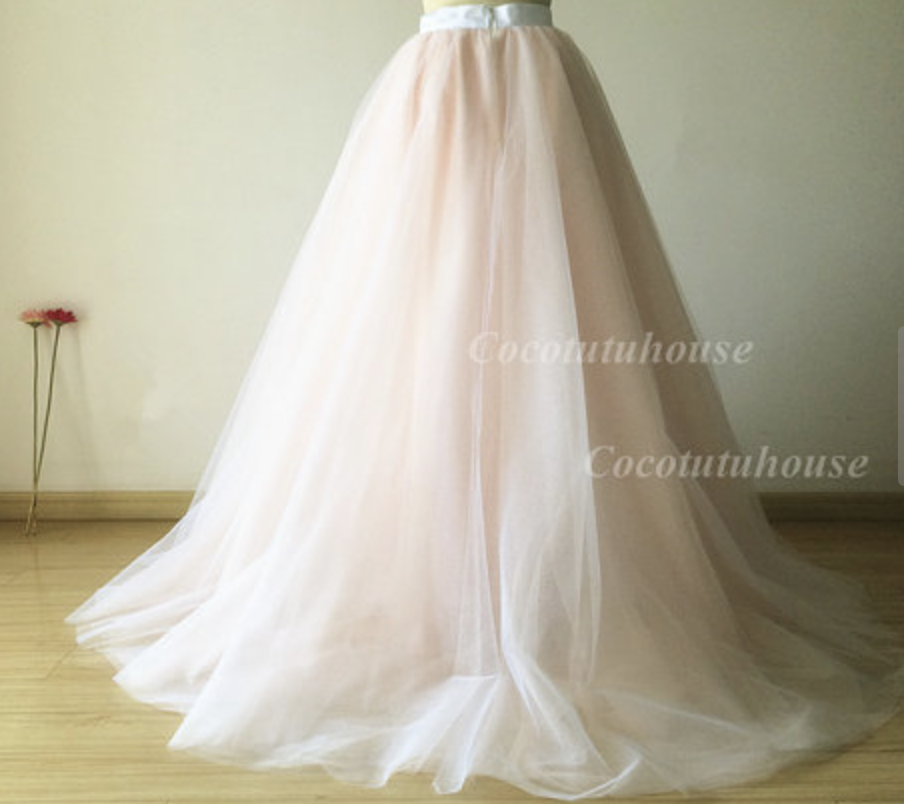 CocoTutu's House Champagne Skirt