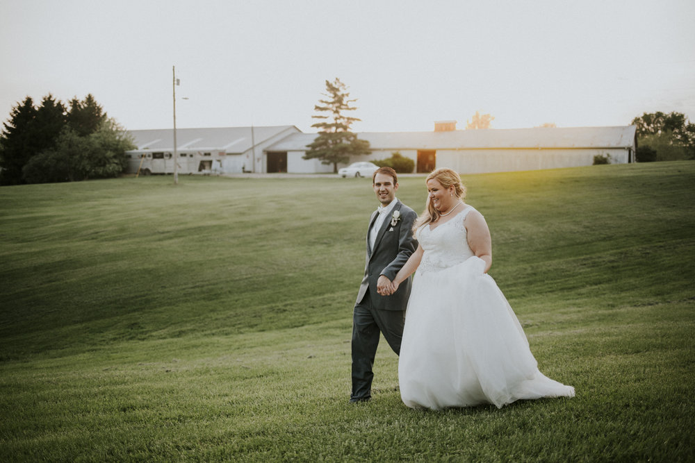 Kaylen and Eric's Romantic Countryside Wedding in Cincinnati, Ohio - Reception Photography