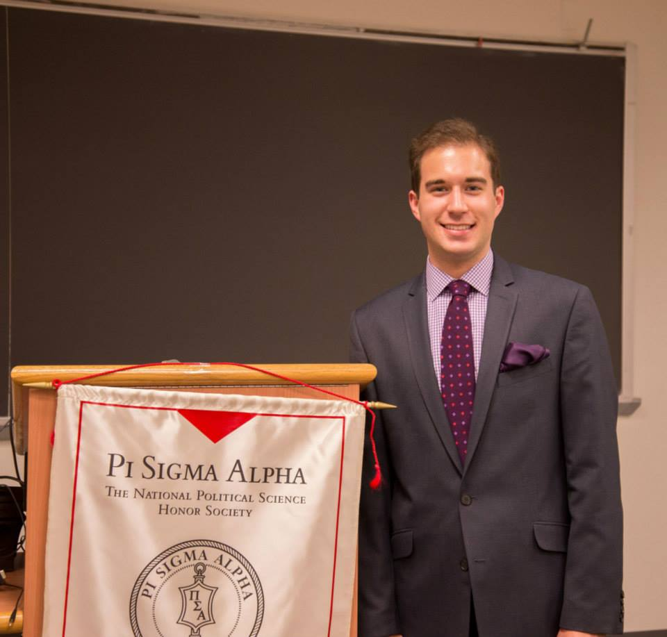 At the Pi Sigma Alpha Undergraduate Research Conference in February 2015.