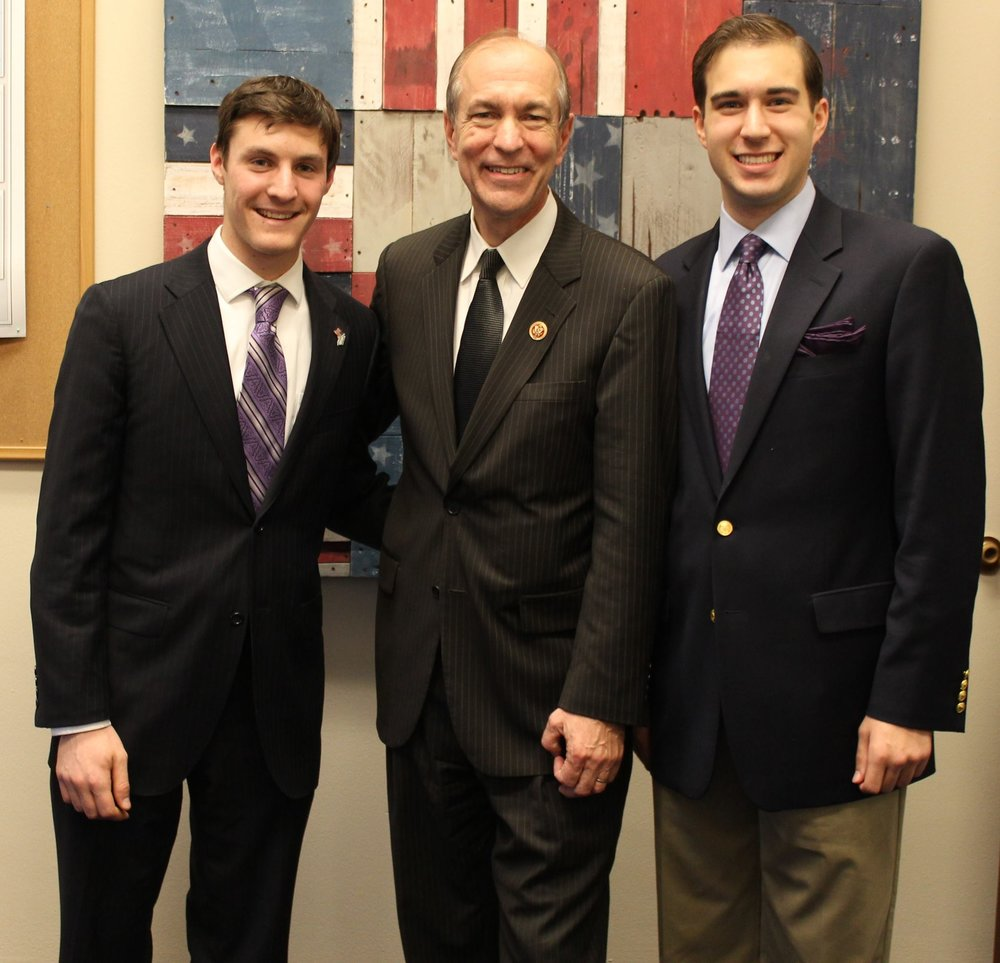 With former Congressman Scott Garrett (R-NJ), November 2013