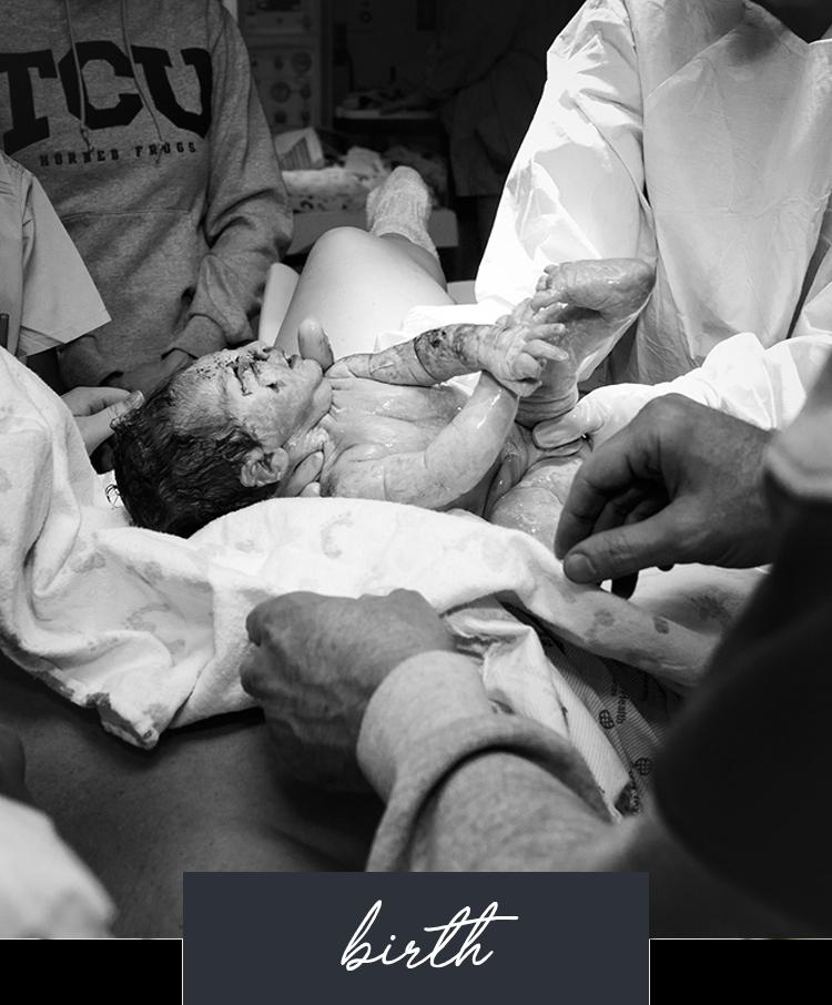 Dallas-Fort Worth Birth Photography Birth Stories