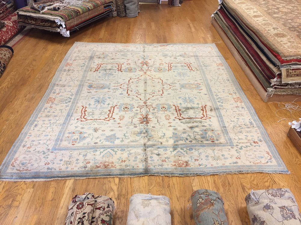 "Turkish Serapi - Price $1,500 - Size 10'3"" x 11'10"""