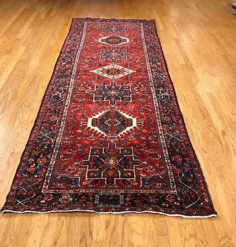 Persian Heriz - Price $1800 - 4'7 x 12'8
