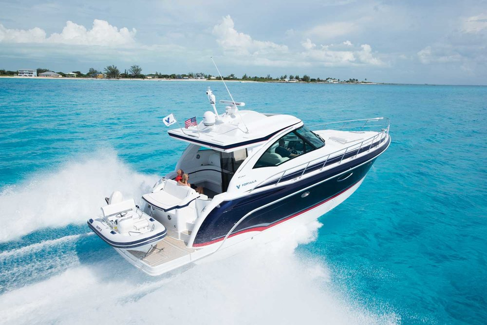 45 ft Formula / 10 guests max<br><b>From $1400</b>