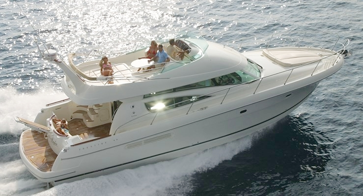 50 ft Prestige | From $1100 | 13 guest max