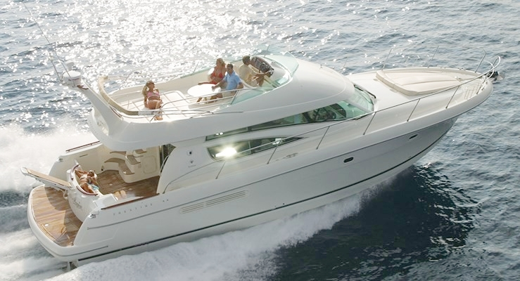 50 ft Prestige / 13 guests max<br><b>From $1350</b>