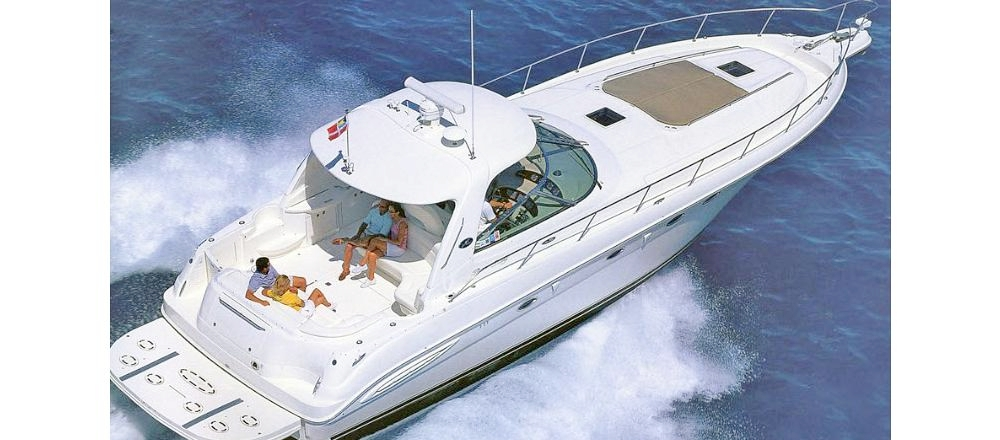 50 ft Sea Ray | From $950 | 13 guest max