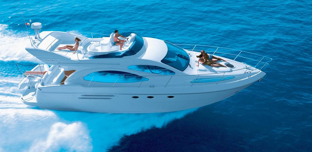 50 ft Azimut   From $1200   13 guest max