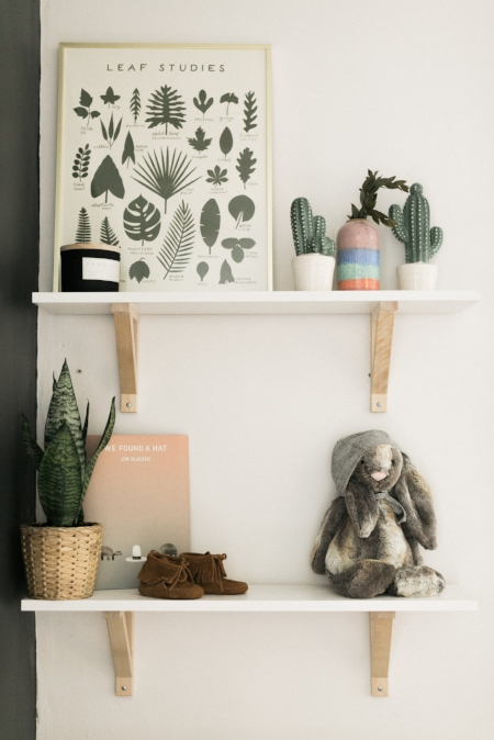 What inspired you when designing her nursery?:   *Her nursery kind of came together over time. I love neutrals!! Like... too much. My mom couldn't believe when she looked at my registry and didn't see any color. But overtime, I incorporated a few colors here and there giving it a bit of a desert/bohemian theme. I wanted to collect small treasures throughout the pregnancy that I felt summed up our style as parents as well as speak into who we want to teach Willow to be. Especially the banner that hangs above her crib.