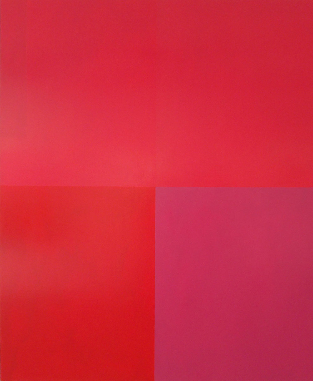 Persephone Never Lied #5, 67 x 55 x 3 inches / 170 x 139 x 8 cm, acrylic on canvas, 2016