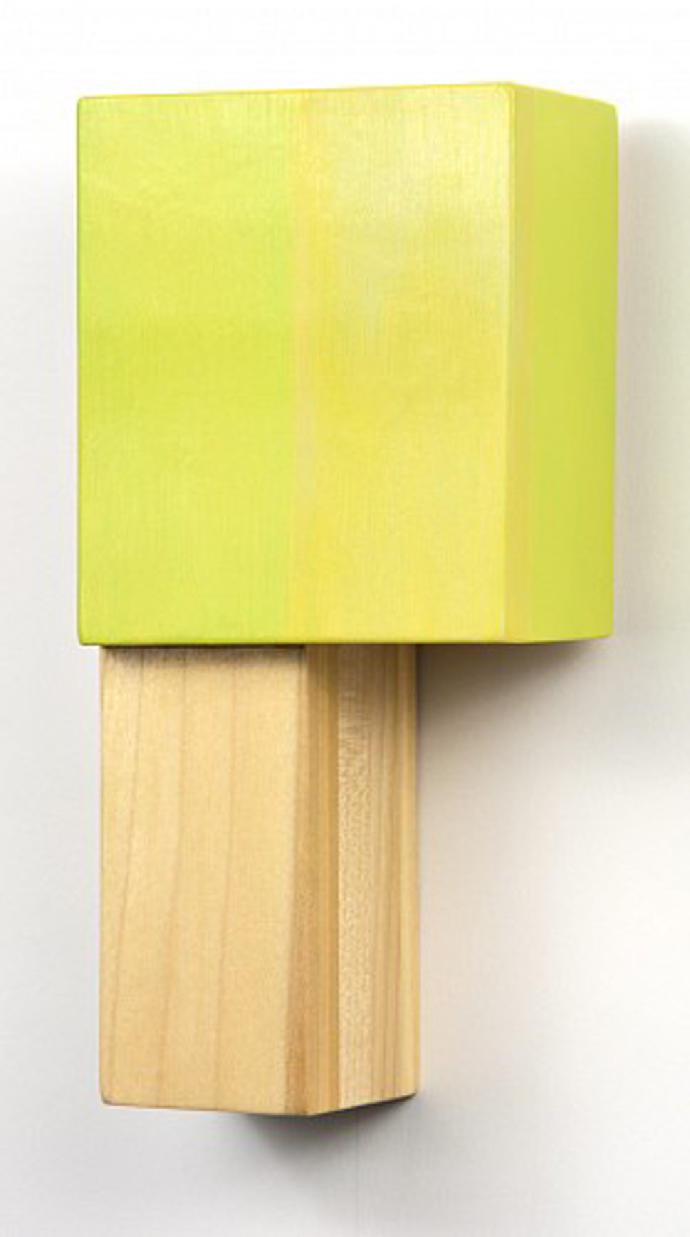 Dominion 4, 10 x 5 x 3 inches / 25.4 x 12.7 x 7.6 cm, acrylic on laminated poplar, 2013