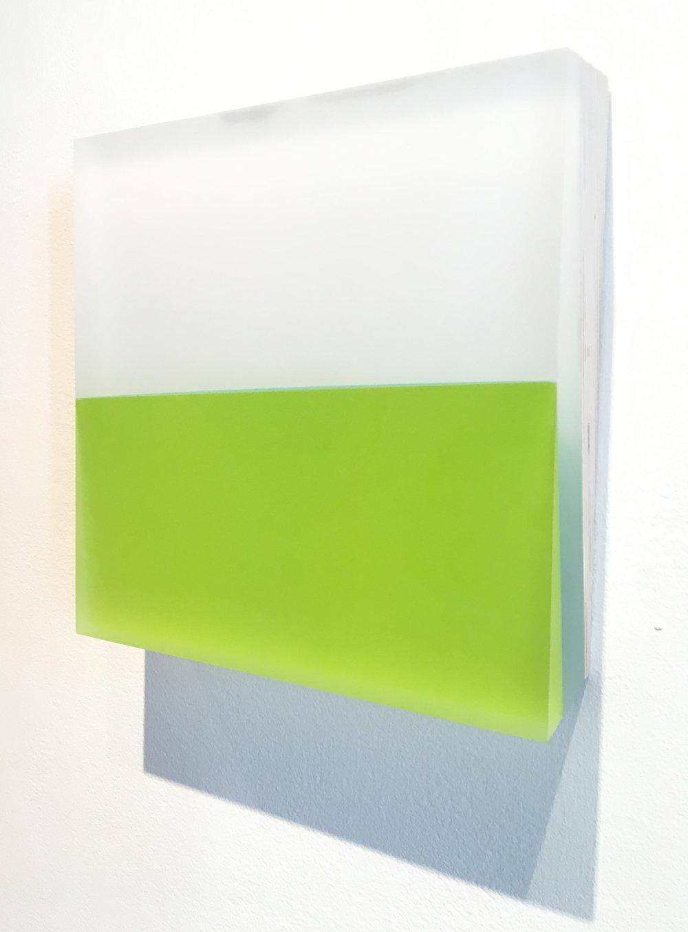 MICHELLE BENOIT | Surround, Chartreuse