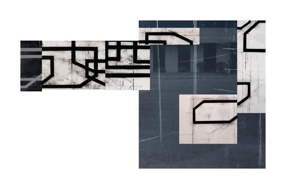 Exurban Archipelago P1, 21 x 30 inches / 53.3 x 76.2 cm, archival pigment print, edition 1/10, 2018