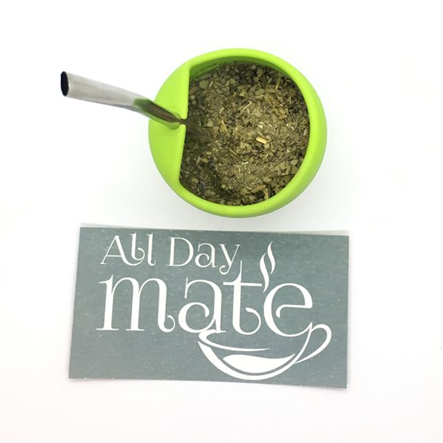 All Day Mate #yerbamate
