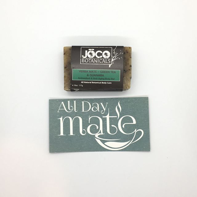 This AMAZING soap made with yerba mate was included in one of our previous boxes. What's in our next month's box? Subscribe and find out!