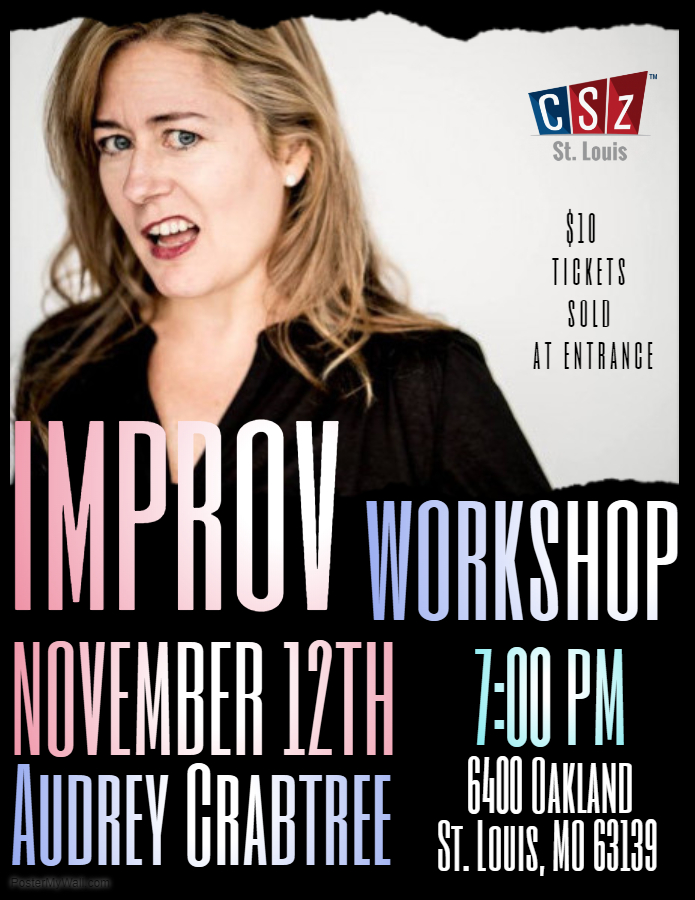 Join us! - Fun Short form Improv Workshop