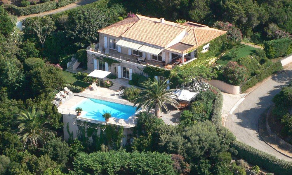 Aerial View of Villa Maremonti
