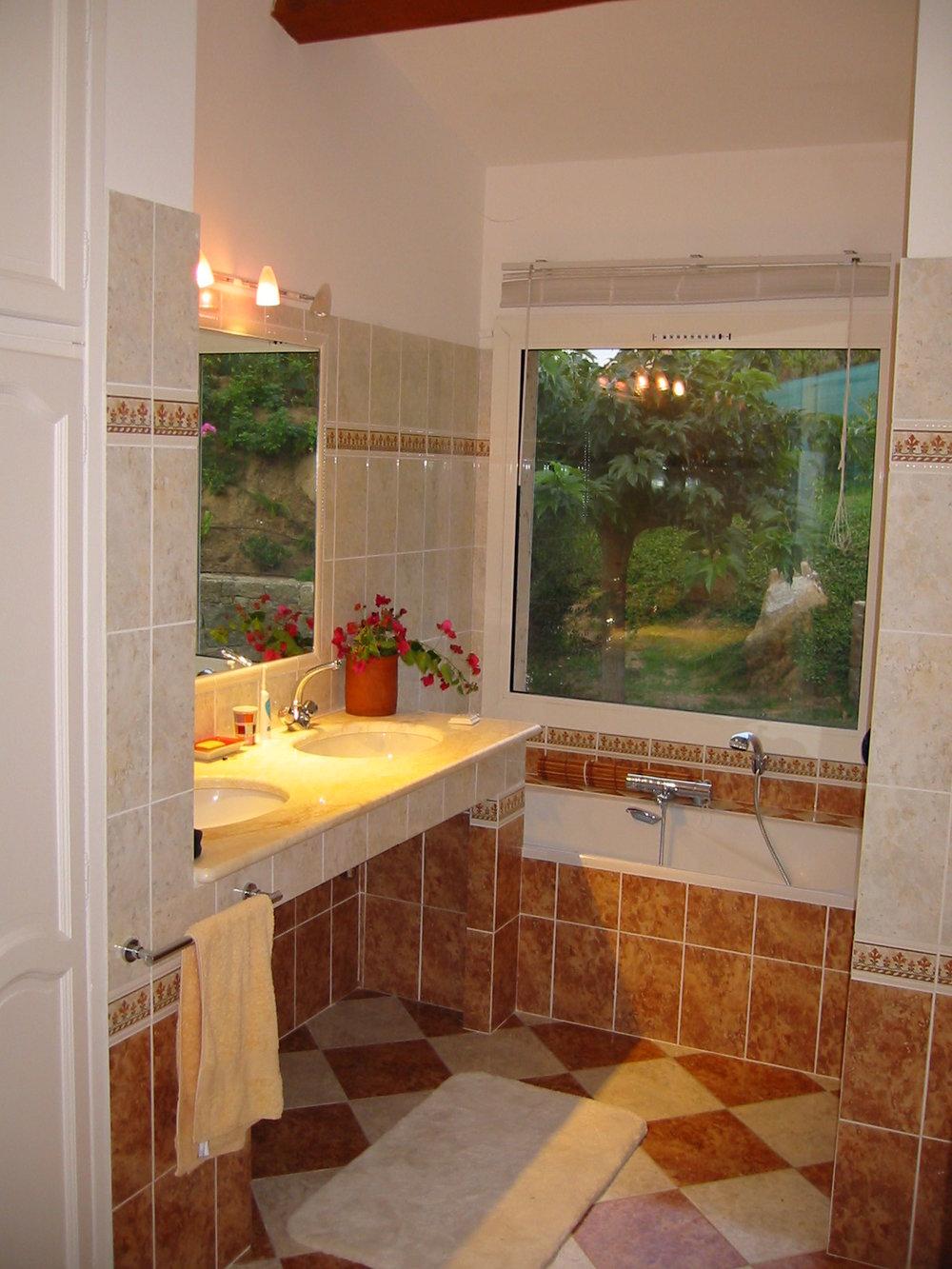 Salle de bain de maitre