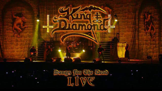 KING DIAMOND SONGS FOR THE DEAD LIVE REVIEW