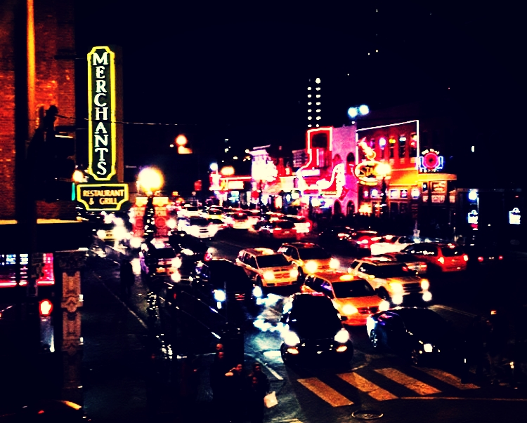 Broadway Downtown Nashville #nashvegas