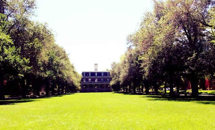 The Quad at the University of Nevada, Reno Campus