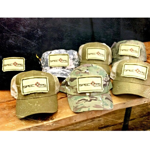 Custom SpecOps hats as a holiday gift for the team...because #PR operators can wear operator caps too!