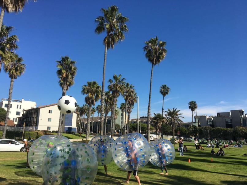 Bubble Soccer Rental - Bubble Soccer in Venice Beach, Los Angeles