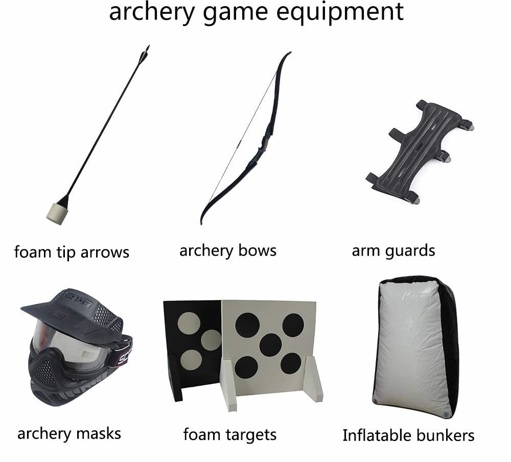 Our Archery Tag Equipment is of quality because quality equipment ensures functionality.