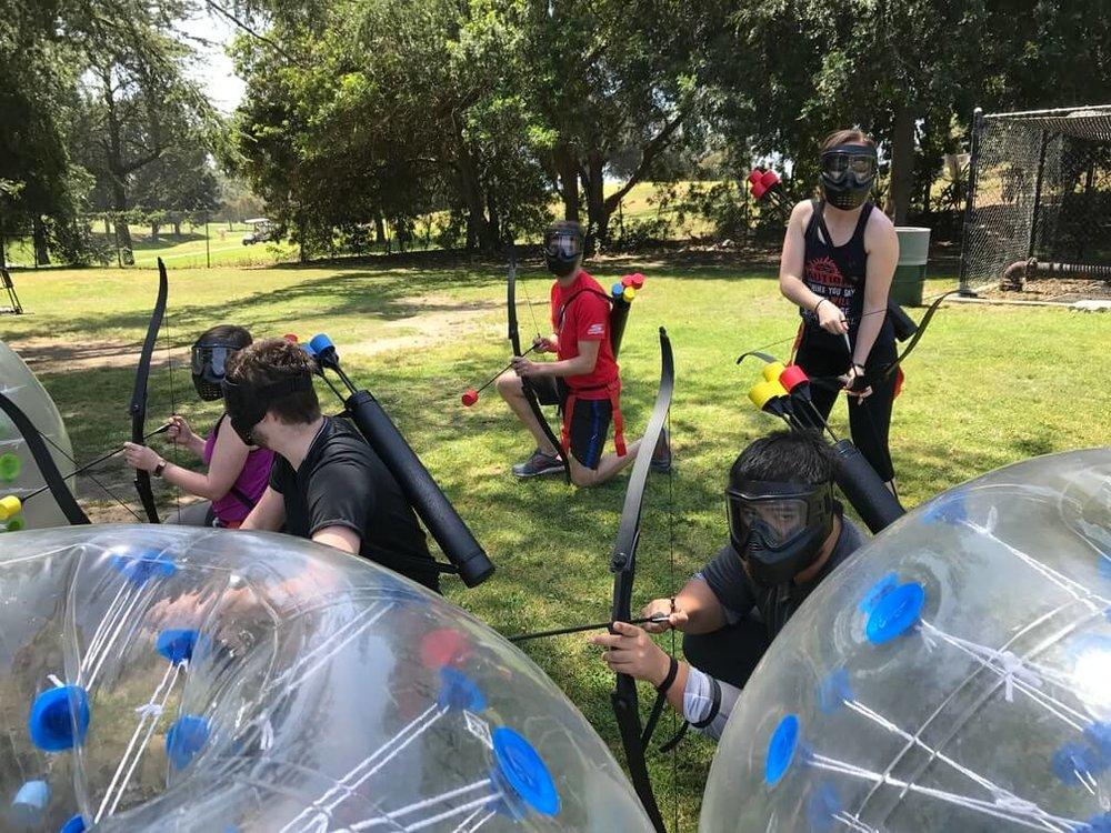Our Archery Tag Social on 4/28
