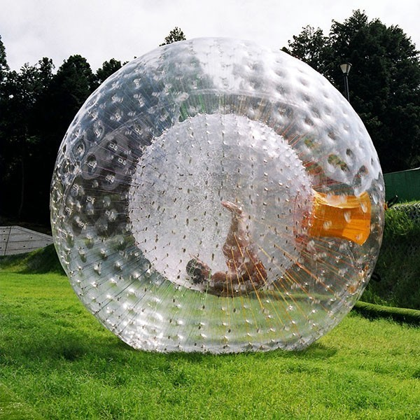 Zorb with a Human Hamster Ball in Glendale