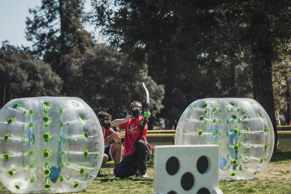 ready, and fire | Archery Tag in Los Angeles