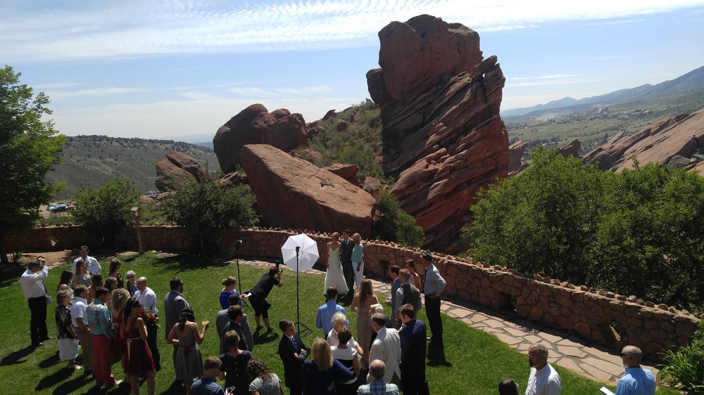 Proud to have made the rings for the 2017 Eclipse Wedding at Redrocks. What an event!