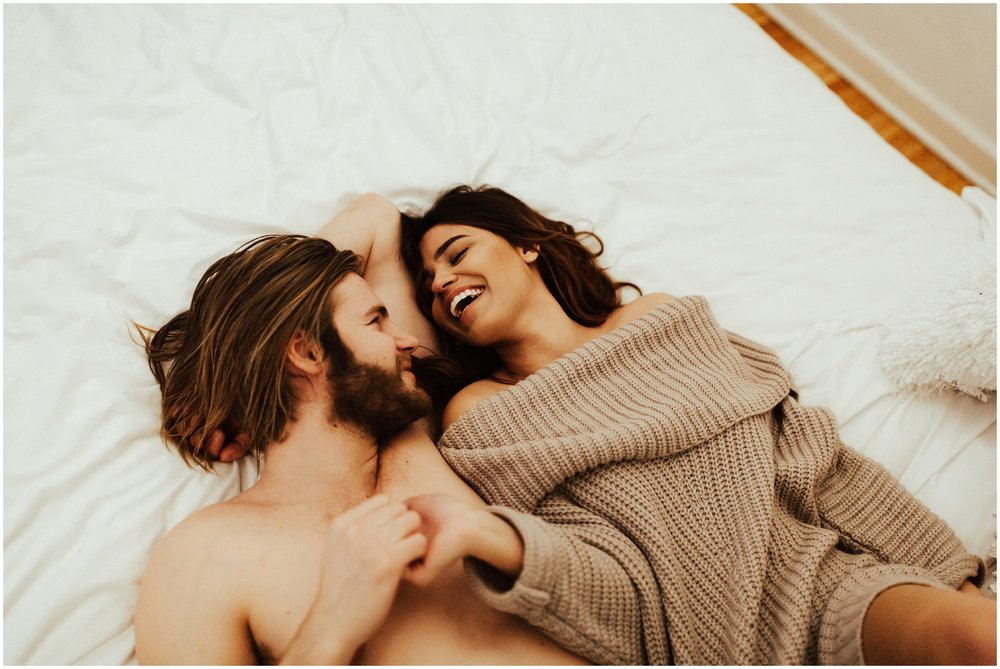 Intimate In Home Session | Cassie Trottier Photography | Liz Vaugin