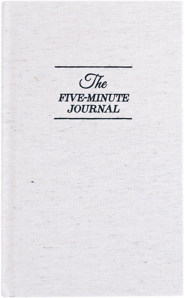 The Five-Minute Journal - Hands down, the easiest and fastest way to find your happy! In just a matter of minutes a day, you can reflect on what you're grateful for in your life. From an organizer's perspective, this can go a long way in preventing impulse shopping or over buying! Find your copy HERE.