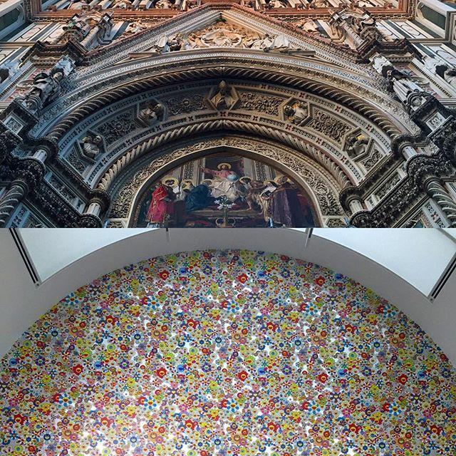 old vs. new / Duomo vs. Murakami