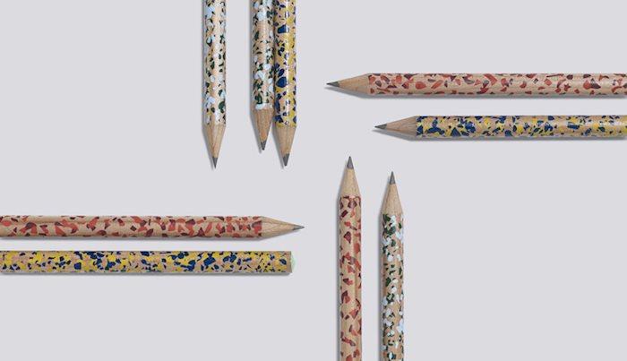 Terrazzo Pencils by HAY
