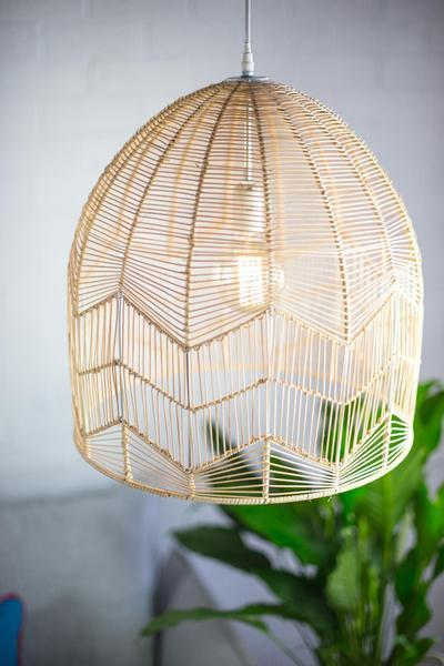 Petite Lily Interiors  One World Interiors-Rattan Pendant L& - in Natural/ 2. Milly and Eugene  Lace Rattan Pendant - in Natural/ 3. & THE ROUND UP: Wicker and Rattan Pendant Lights u2014 a. Naber Design