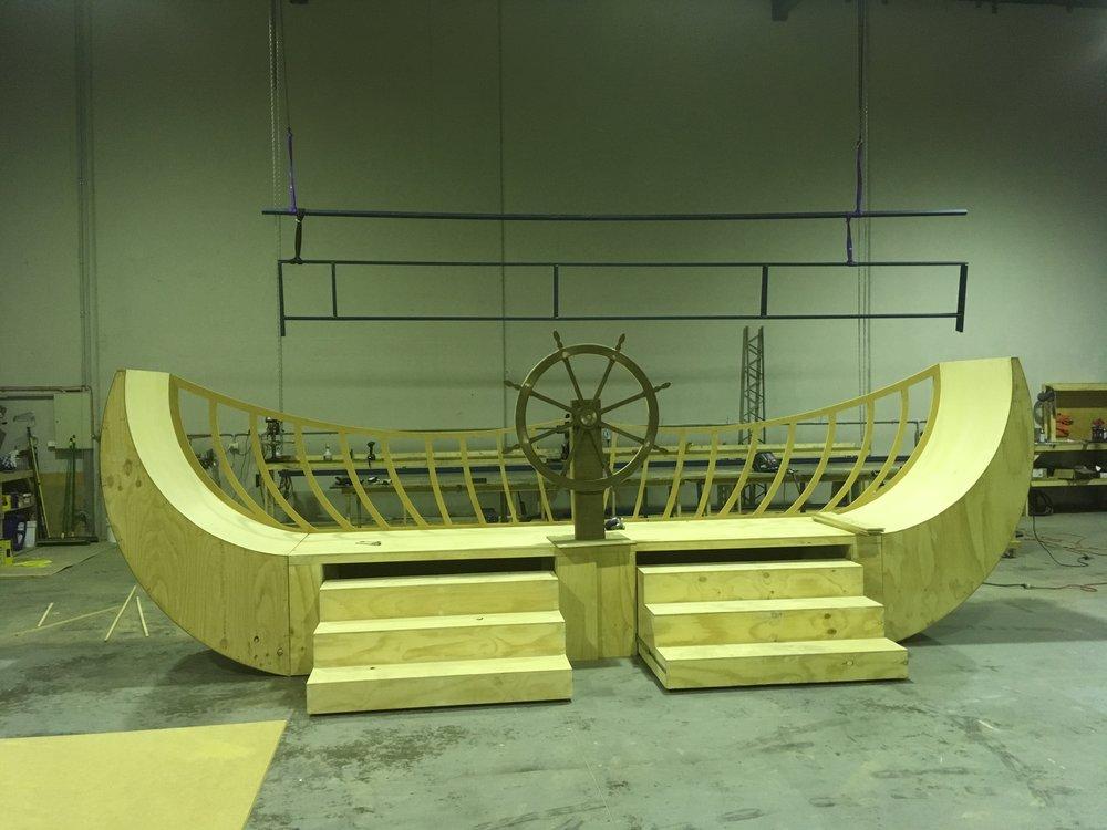 The Little Mermaid - Boat Construction.JPG