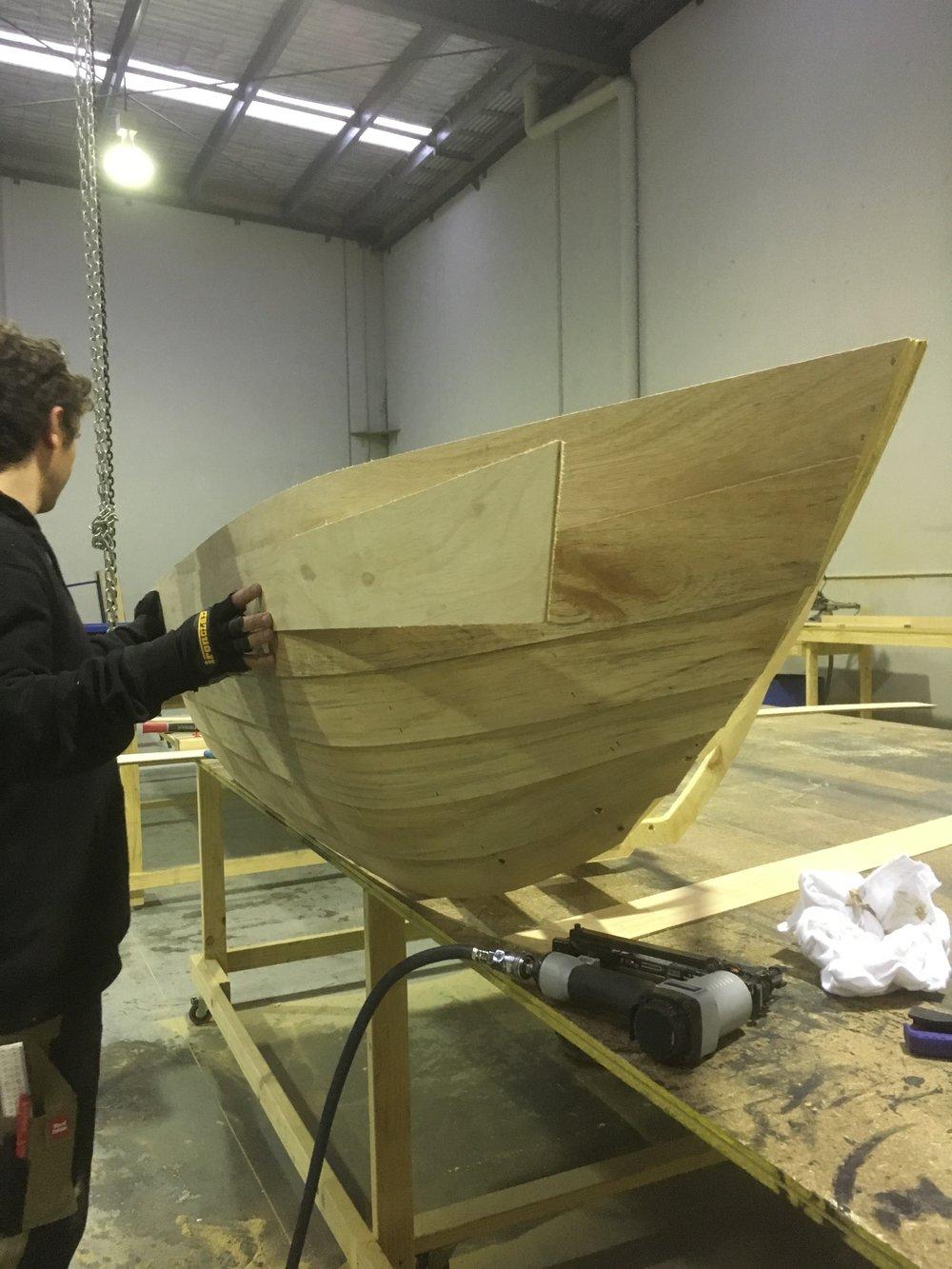 The Little Mermaid - Row Boat.JPG