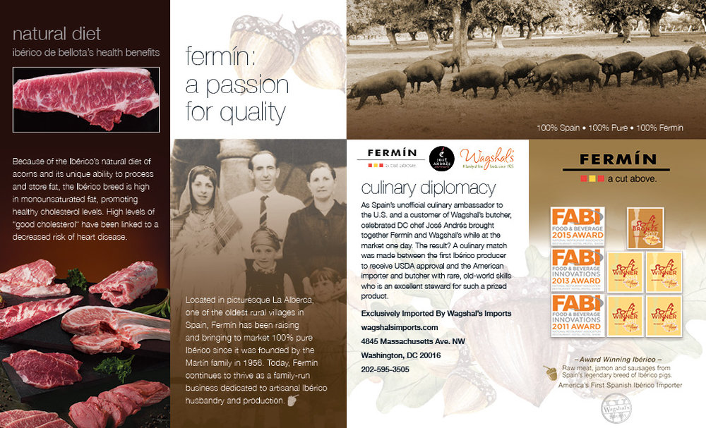 WAGSHAL'S IMPORTS: FERMÍN BROCHURE -