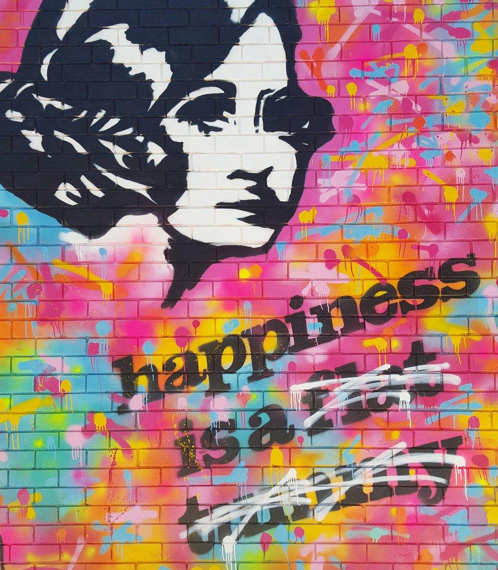 Street Art Explosion Mural
