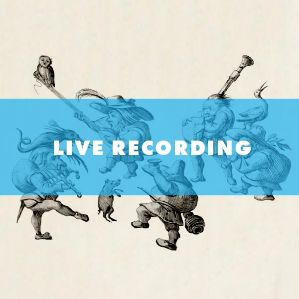 LIVE RECORDING - FULL Orchestral Recordings to custom sessions with specific ensembles.