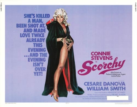 - If the mark of a good story is when you have three friends explain it to you and you still don't understand it, then the Seattle-centric Scorchy (1976) definitely fits the bill. The kids from The Dead Beat Film Society podcast join us this week to discuss everything from old Seattle landmarks, to glass ceiling shards, to Canadian dogs. Buckle up, kids because we're hopping in a dune buggy and heading to the Fun Forest this week on Ex Rated Movies!